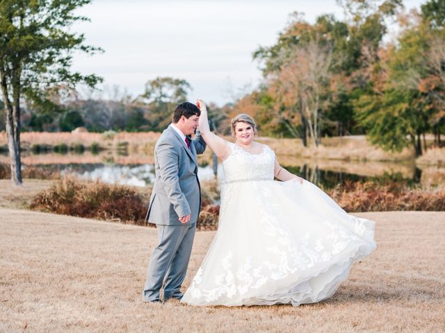 The wedding of Meagan Coberley and Caleb Raine