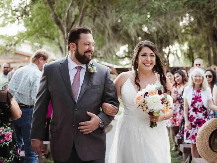 The wedding of Kimber and Robert