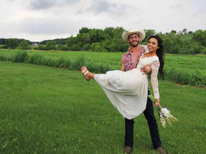 The wedding of Jordana and Gene