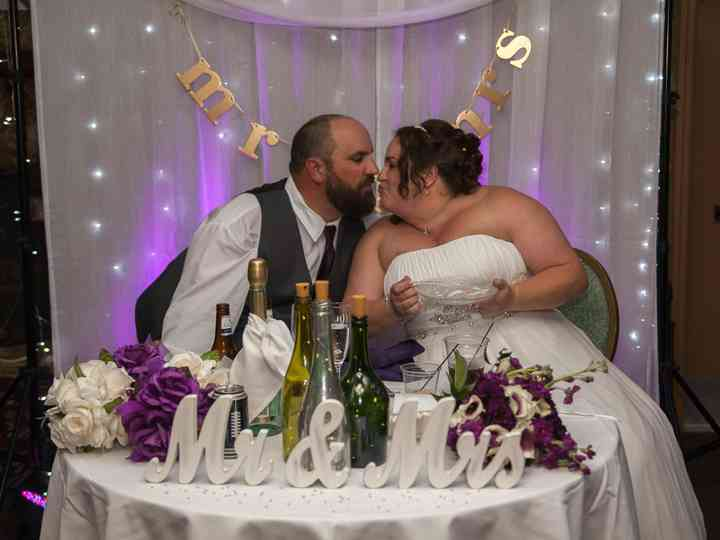 The wedding of Lisa and Mike