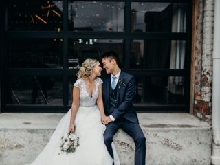 The wedding of Brittany and Charles