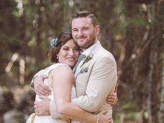 The wedding of Lauren and Ben