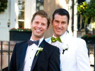The wedding of Jeff and Blair