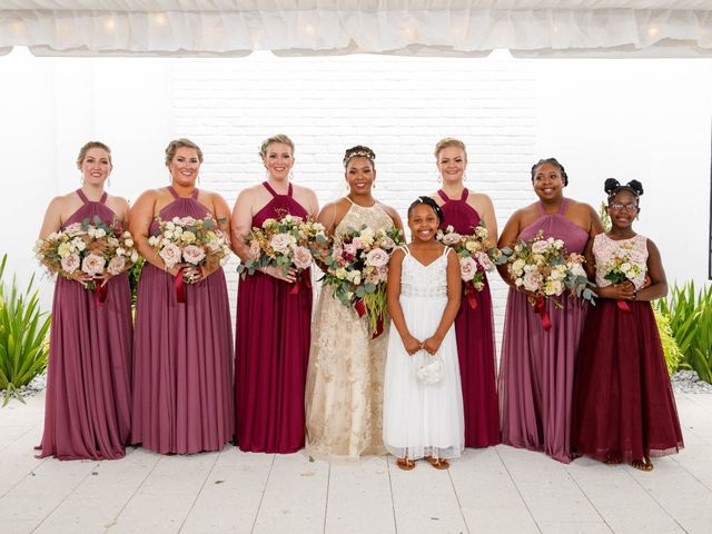 Jamol and Shannon's Wedding in Green Cove Springs, Florida 18