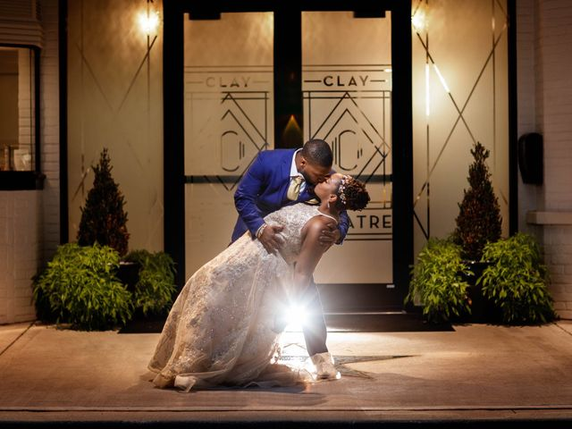 Jamol and Shannon's Wedding in Green Cove Springs, Florida 1