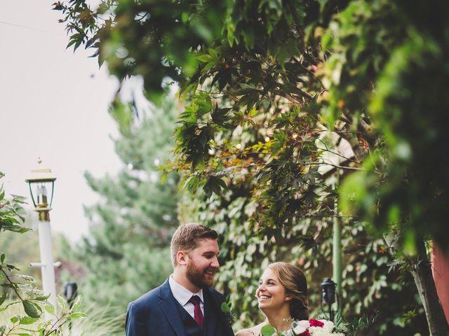 The wedding of Ben and Jade