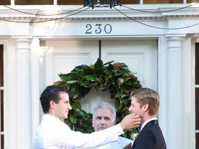 Blair and Jeff's Wedding in Savannah, Georgia 6