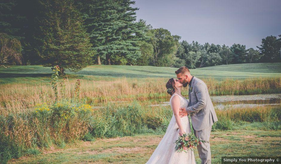 Josh and Sarah's Wedding in Foster, Rhode Island