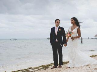 The wedding of Aidi and Newaf