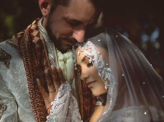 The wedding of George and Reena