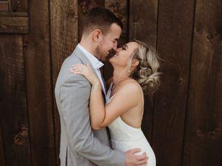 The wedding of Brandon and Lindsey