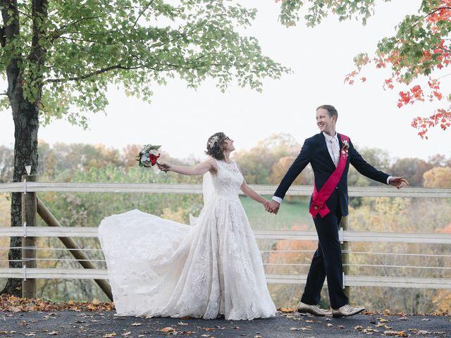 The wedding of Stephanie and David