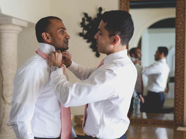Newaf and Aidi's Wedding in Cancun, Mexico 3