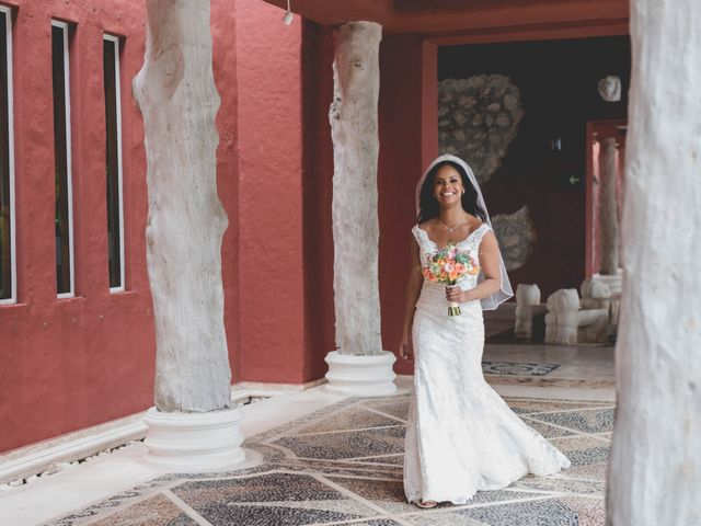 Newaf and Aidi's Wedding in Cancun, Mexico 29