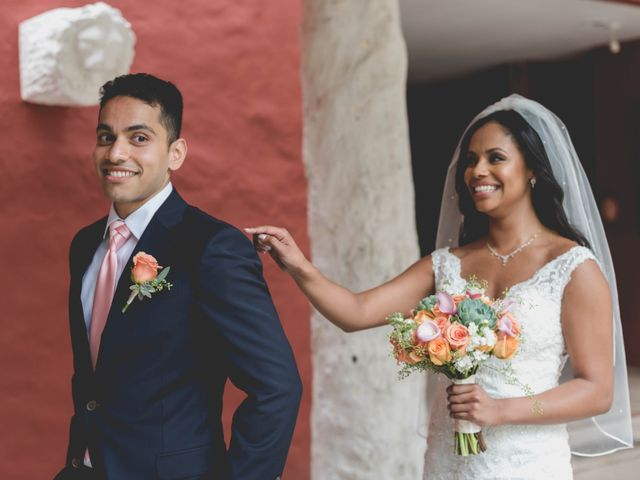 Newaf and Aidi's Wedding in Cancun, Mexico 31