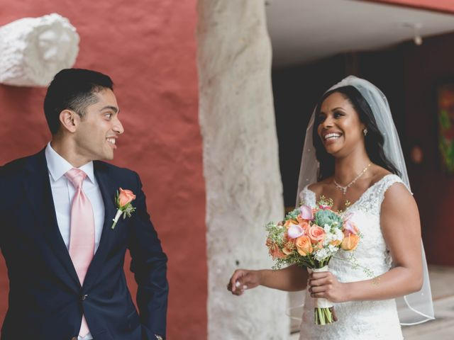 Newaf and Aidi's Wedding in Cancun, Mexico 32