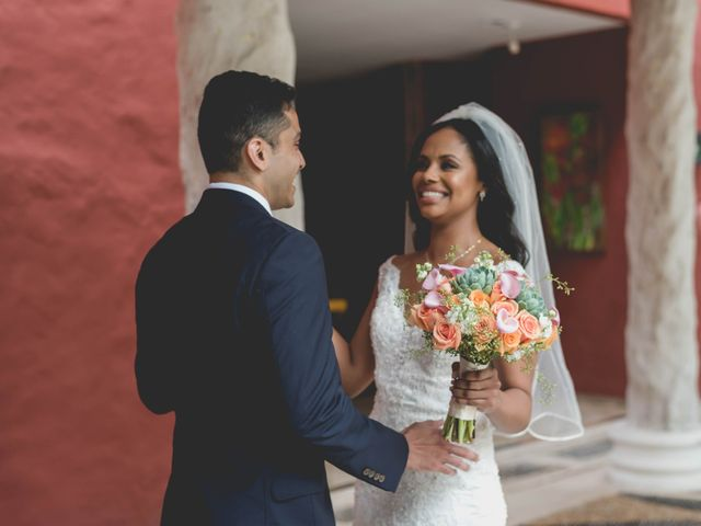 Newaf and Aidi's Wedding in Cancun, Mexico 33