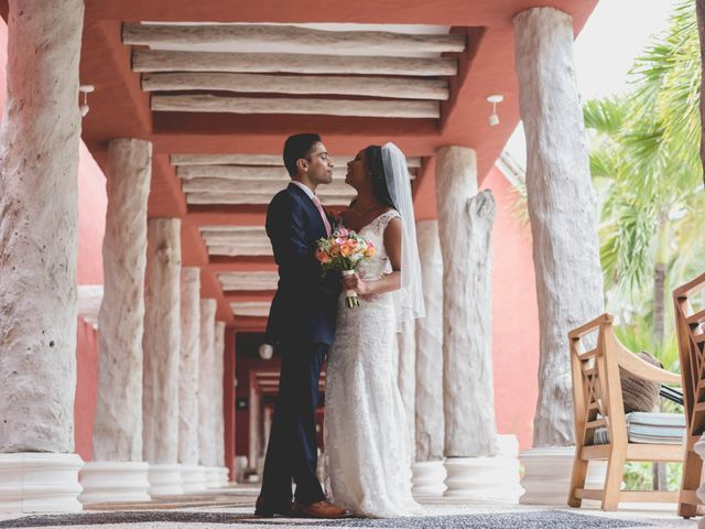 Newaf and Aidi's Wedding in Cancun, Mexico 35