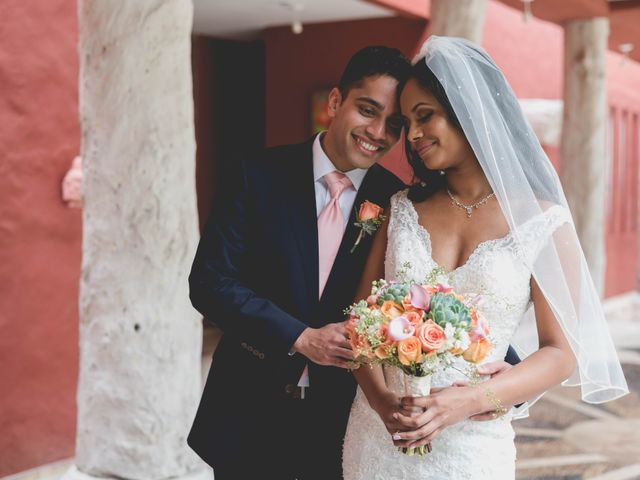 Newaf and Aidi's Wedding in Cancun, Mexico 36