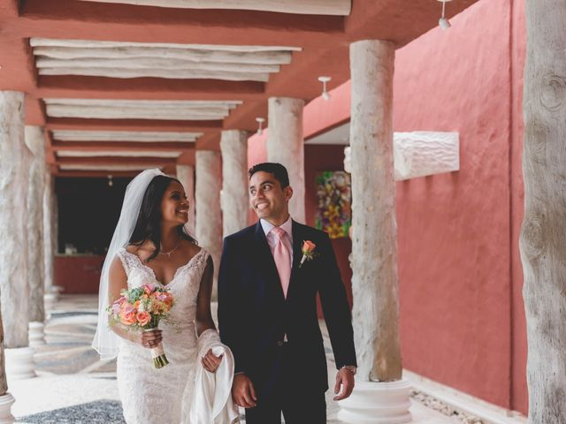Newaf and Aidi's Wedding in Cancun, Mexico 38