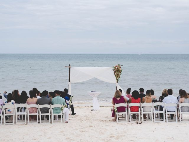 Newaf and Aidi's Wedding in Cancun, Mexico 40