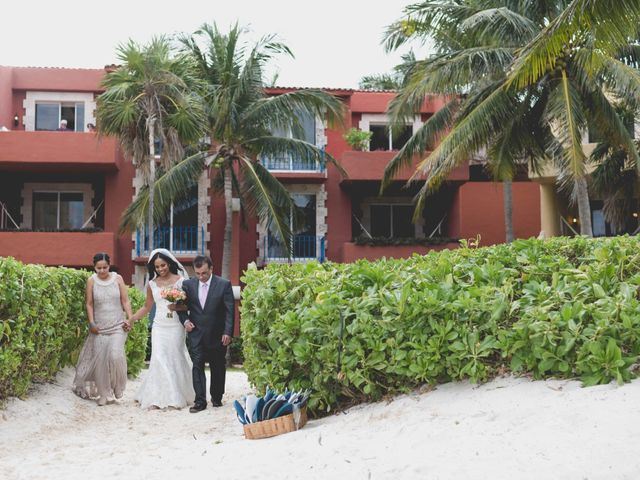 Newaf and Aidi's Wedding in Cancun, Mexico 42