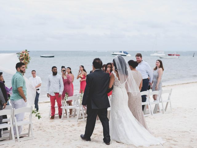 Newaf and Aidi's Wedding in Cancun, Mexico 44