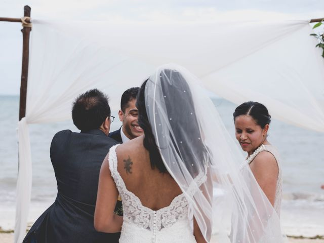 Newaf and Aidi's Wedding in Cancun, Mexico 45