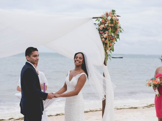 Newaf and Aidi's Wedding in Cancun, Mexico 46