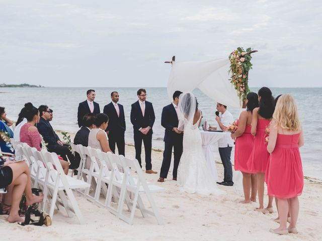 Newaf and Aidi's Wedding in Cancun, Mexico 49