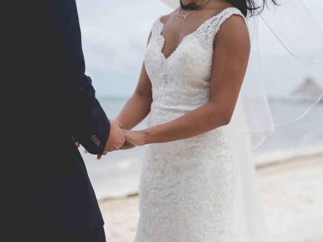 Newaf and Aidi's Wedding in Cancun, Mexico 50