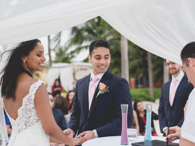 Newaf and Aidi's Wedding in Cancun, Mexico 51