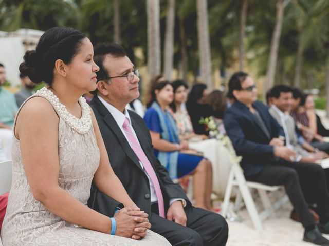 Newaf and Aidi's Wedding in Cancun, Mexico 52
