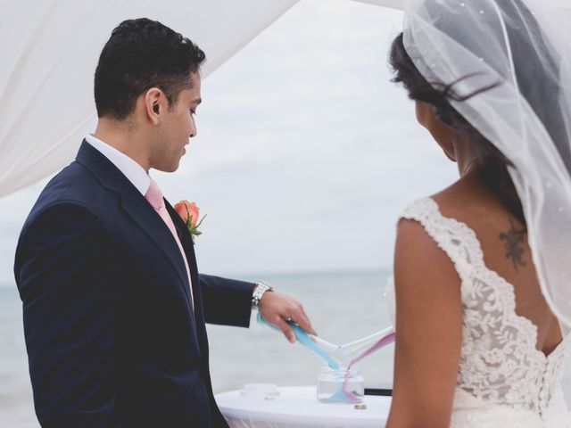 Newaf and Aidi's Wedding in Cancun, Mexico 53