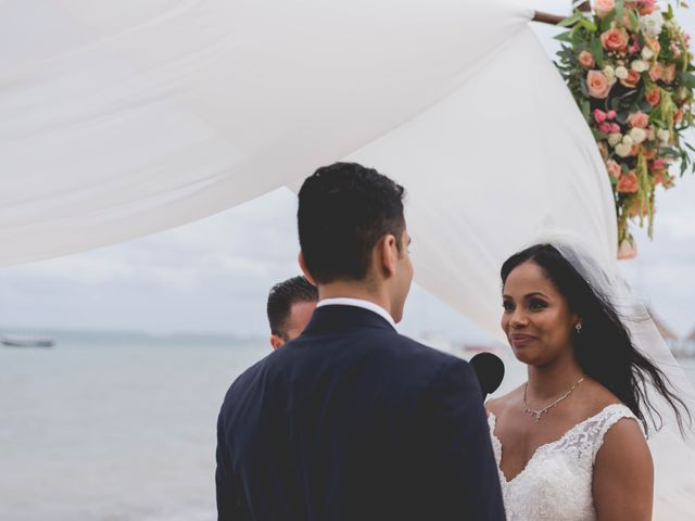 Newaf and Aidi's Wedding in Cancun, Mexico 55