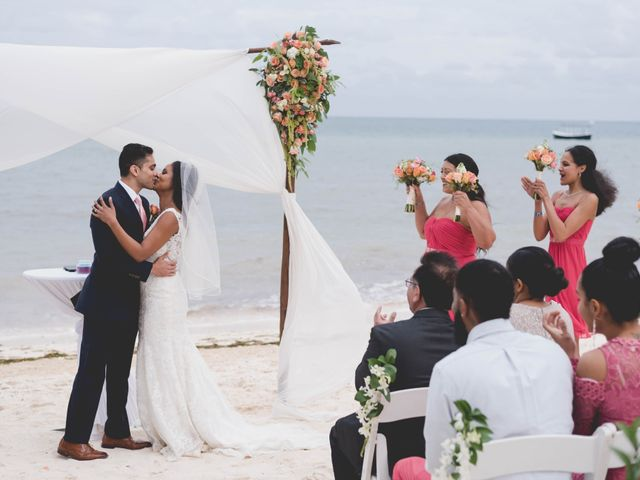 Newaf and Aidi's Wedding in Cancun, Mexico 56