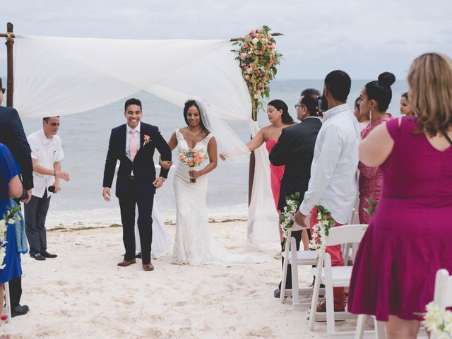 Newaf and Aidi's Wedding in Cancun, Mexico 57