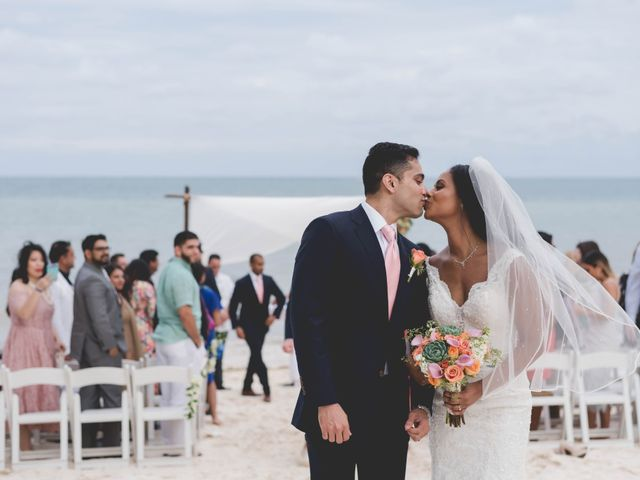 Newaf and Aidi's Wedding in Cancun, Mexico 58