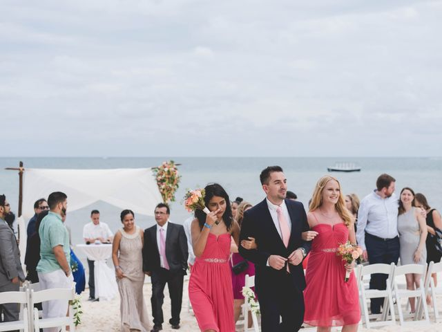 Newaf and Aidi's Wedding in Cancun, Mexico 59
