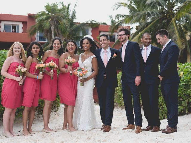 Newaf and Aidi's Wedding in Cancun, Mexico 60