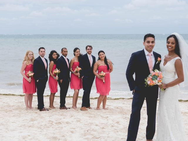Newaf and Aidi's Wedding in Cancun, Mexico 61