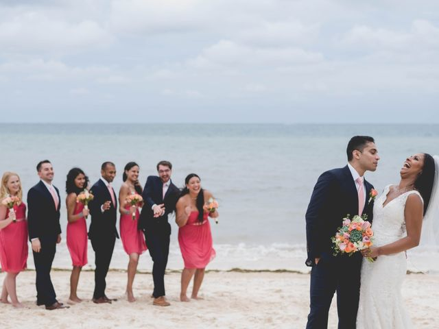 Newaf and Aidi's Wedding in Cancun, Mexico 62