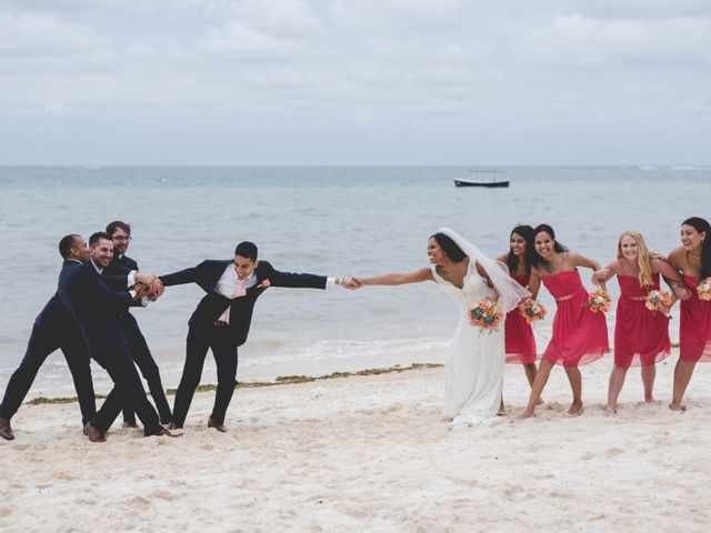 Newaf and Aidi's Wedding in Cancun, Mexico 63