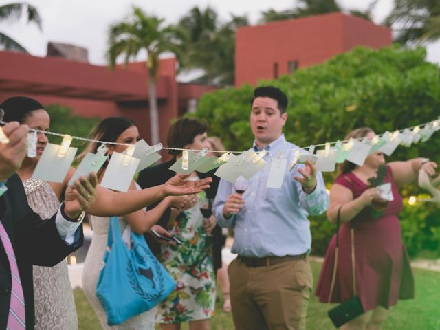 Newaf and Aidi's Wedding in Cancun, Mexico 67