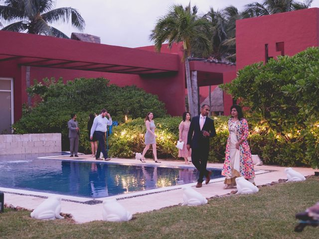 Newaf and Aidi's Wedding in Cancun, Mexico 68