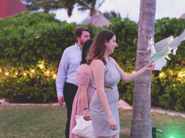 Newaf and Aidi's Wedding in Cancun, Mexico 69