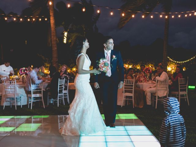 Newaf and Aidi's Wedding in Cancun, Mexico 73