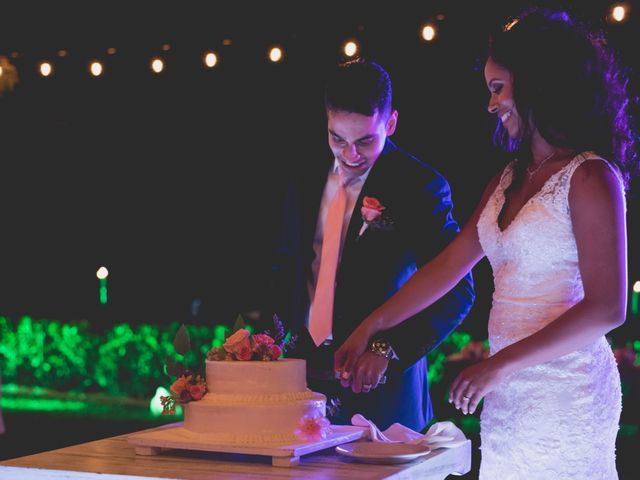 Newaf and Aidi's Wedding in Cancun, Mexico 76