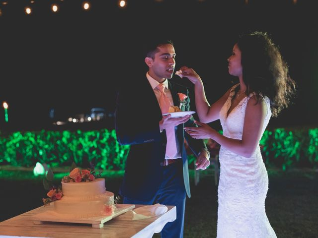 Newaf and Aidi's Wedding in Cancun, Mexico 77