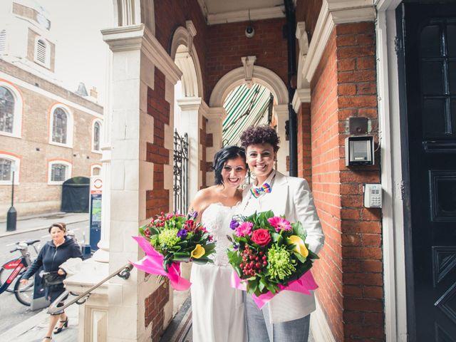 Federica and Daniela's Wedding in London, United Kingdom 3